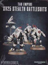 Tau Empire xv25 stealth battlesuits WARHAMMER 40.000 Games Workshop Empire Tau
