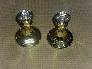 Kerzenhalter 2er-Set, stilvoll, Glas, Neu, OVP