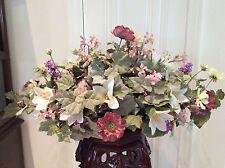 Large Silk Floral Arrangement Peony Hydrangea Lilies Floiage Custom Center Piece