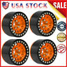 Metal 1.9 Beadlock Wheel Rim Hub For 1/10 Traxxas Hsp Redcat Rc4wd RC Car D6Y6