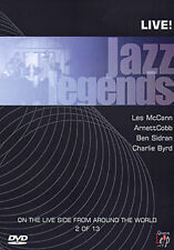 JAZZ LEGENDS LIVE MACCANN COBB SIDRAN - DVD - REGION 2 UK