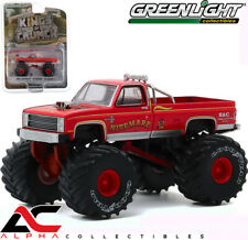 GREENLIGHT 49070D 1:64 1986 CHEVY SILVERADO NITEMARE II MONSTER TRUCK