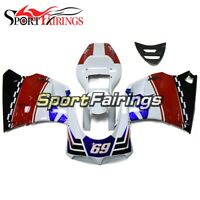 White Blue Fairing For Ducati 1996 97 98 99 00 01 2002 996 748 916 998 Monoposto