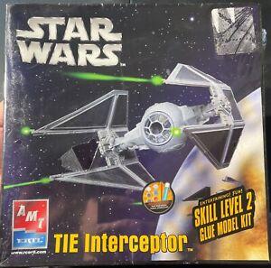 AMT Star Wars TIE Interceptor FS NEW Model Kit 'Sullys Hobbies'