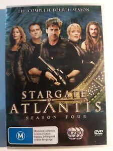 DVD - Stargate Atlantis - The Complete Fourth Season VGC FREE EXPRESS POST