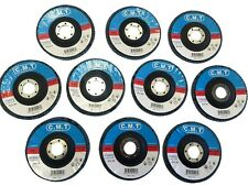 (10) 4 1/2'' 40 GRIT FLAP SANDING GRINDING DISCS 4.5'' 7/8'' ANGLE GRINDER WHEEL