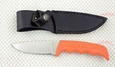 *   1028OR Kershaw Antelope Hunter fixed blade hunting knife NIB leather sheath