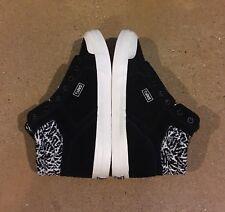 DVS Equinox Women's Size 7 US Black Ecru Suede BMX DC Skate Shoes Sneakers