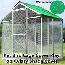 Large Pet Bird Cage Cover Breathable Easy Cleaning Play Top Parrot Finche