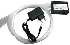 LED Glasfaser Sternenhimmel mit Funkeleffekt und Sternschnuppe - 340 Lichtfaser