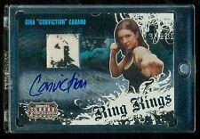 2008 Gina Carano Donruss Americana Ring Kings Autographed Memorabilia UFC AUTO