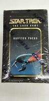 2 Box Lot of 1996 Star Trek The Card Game Booster Packs Collector Box