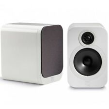 Q Acoustics 3020 - Bookshelf Speakers WHITE LACQUER QA3028 B2 GRADE