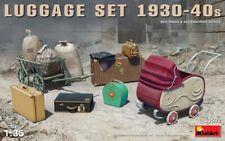 Miniart 35582 Luggage Set, 1930-40s Scale Plastic Model Kit 1/35