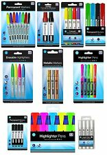 MARKERS Pens Permanent Highlighter Gel Whiteboard School Home Office {Anker}