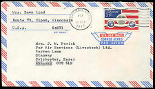 USA 1977 Commercial Airmail Cover to UK #C33100