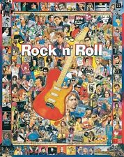 Jigsaw puzzle Entertainment Legends of Rock and Roll 1000 piece NEW Made in USA