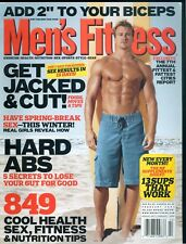 Men's Fitness Magazine February 2005 Get Jacked & Cut Hard Abs Rusty Joiner