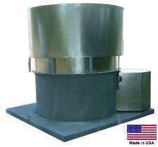 "ROOF VENTILATOR EXHAUST FAN - 24"" - 1.5 Hp - 115/230V - 1 Ph - 8200 CFM  OAS"