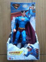 """Superman Returns Superman Brandon Routh 2006 10"""" action figure DC Mattel"""