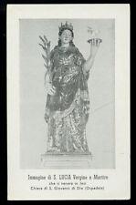 "santino-holy card""S.LUCIA V.M.-JESI"