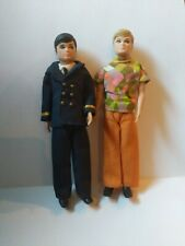 Topper Dawn Doll lot of 2 Male friends Gary And Ron