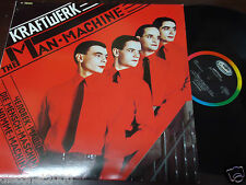 "KRAFTWERK - The Man Machine, LP 12"" ITALY 1978"