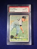 1957 Topps George Susce #229 PSA 8 Boston Red Sox