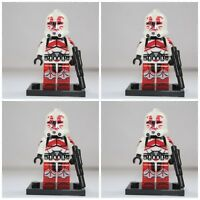 Star Wars Blood Legion Storm Clone Troopers Mini Figures use with lego Jedi