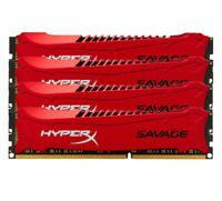 Pour Kingston HyperX Savage 4GB 8GB 16GB 2133MHz DDR3 PC3-17066 Desktop RAM Red