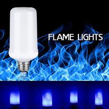 4 Modes LED Flame Effect Simulated Nature Fire Light Bulbs E27 Decoration Lamp