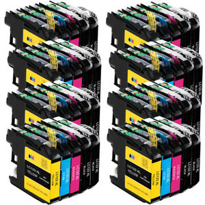 40x Druckerpatronen für Brother LC123 XL MFC-J6520DW DCP-J4110DW MFC-J4410DW