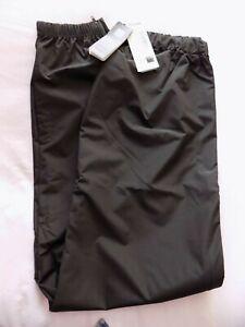 Santini Men Down Town London Windproof Zipped Cycling Trousers - Black - Size XL