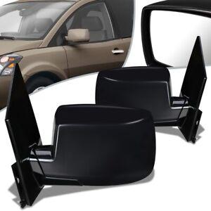 Fit 05-07 Nissan Quest SL Pair Power+Heated Side Door Mirror NI1320191 NI1321191