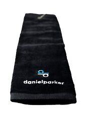 Daniel Parker Mikrofaser Golfhandtuch mit Aluminium-Clip