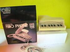 VINTAGE CRUSADER PIANO PHONE BY COLUMBIA MODEL PN-10 RARE BOX WHEN DIALING PLAYS