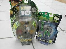 Ben 10 Tennyson Alien Force & DNA Alien Heroes lot of 2 new Action Figures sets