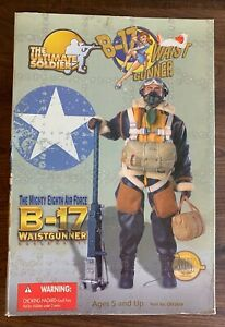 """NEW The Ultimate Soldier 12""""  WWII The Mighty 8th Air Force B-17 Waist Gunner"""