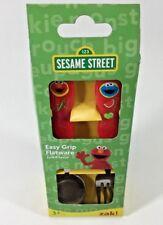 Sesame Street Kids Easy Grip Flatware Spoon & Fork Cutlery Set . Zak Designs