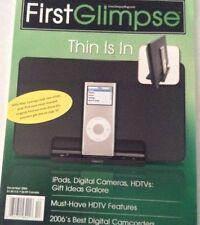 First Glimpse Magazine Ipods Digital Cameras December 2006 072317nonrh