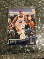 JAREN JACKSON JR. RC 2018-19 Panini Chronicles Playoff Pink SP No. 177 Grizzlies