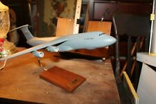 Handmade Wooden Airplane Mahogany Us Air Force C-5M Mastercraft Super Galaxy