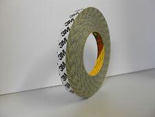 1 Rolle 3M 9086 Doppelseitiges Klebeband mit Papiervliesträger 19mm x 50m Tape