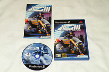 PS2 GAME XG3: EXTREME-G RACING with Booklet (2001) (UK Pal Region 2).