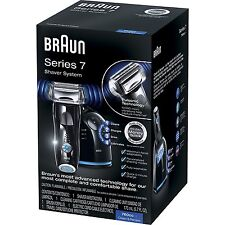 Braun Series 7 760cc-4 Electric Foil Cordless Shaver w/ Clean & Charge Station