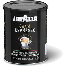 LAVAZZA CAFFE ESPRESSO Premium Ground Coffee Tin 250g 8.8oz