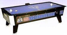 Great American Commercial Coin Operated Power Air Hockey Table Game - 7 Foot