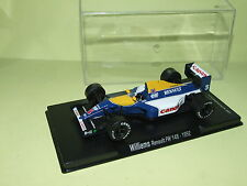 WILLIAMS RENAULT FW14B N. MANSELL CHAMPION 1992 FABBRI