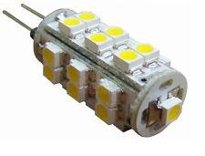 LAMPADA FARETTO G4 25 LED SMD 3528 BIANCO FREDDO  CASA UFFICIO CAMPER 12V 2W
