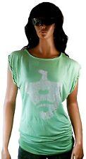 AMPLIFIED IAN BROWN Strass Rock Star Vintage Oversize Tunika ViP T-Shirt L 42/44